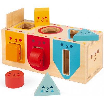 Janod vkládačka Montessori tvary