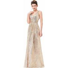 Kate Kasin společenské šaty dlouhé KK000199-1 zlatá 650df6a5cc