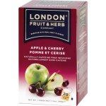 London Herb Ovocný čaj jablko s višní 20 x 2 g