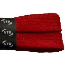 Ploché červené bavlněné tkaničky 100 cm 47a0681642