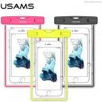 """Pouzdro USAMS Luminous Vodotěsné 6"""" růžové"""