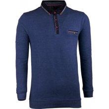 Semal pánský svetr bavlněný 167014, modrá