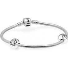 Pandora stříbrný náramek USB791019