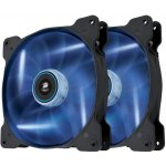 Corsair Air Series SP140 LED Blue High Static Pressure 140mm Fan Twin Pack, CO-9050036-WW