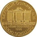 Wiener PhilharmonikerZlatá mince 1 Oz