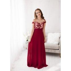 e6c22630348 Dámské plesové a společenské dlouhé šaty Céane vínová od 1 799 Kč ...