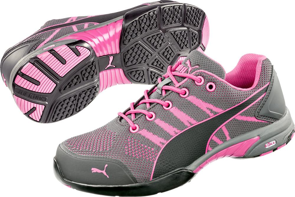 d084f43c92c3 Pracovní obuv Puma Celerity Knit Pink WNS Low S1 HRO SRC ...