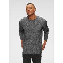 Blend Pletený pulovr, šedá melír