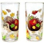 Banquet Sada dětských sklenic JEŽEK 220 ml, 2 ks