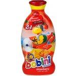 BOBINI 2v1 dětský šampon a pěna 400 ml