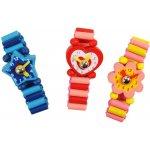 Bigjigs dřevěné náramkové hodinky