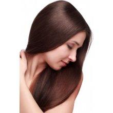 Clip-in umělé vlasy 50 cm - tmavohnědé