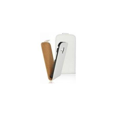 Pouzdro ForCell Slim Flip LG P700 Optimus L7 bílé
