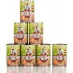 Yoggies hovězí s karotkou a lněným olejem 7 x 400 g