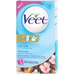 Veet voskové pásky A vitamín E a mandlový olej pro citlivou pokožku 16 ks