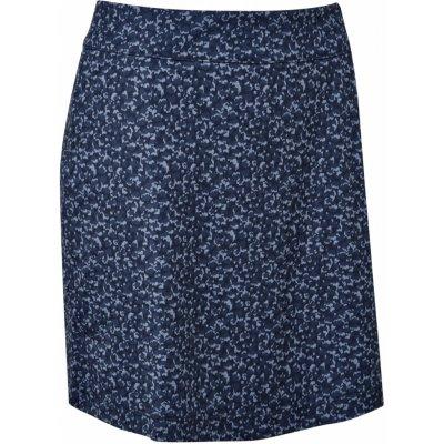 FootJoy W sukně Interlock Print tmavě modrá