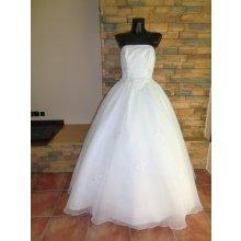 nové luxusní svatební šaty, dovoz USA