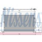Kondenzátor klimatizace, chladič klimatize FORD MONDEO III