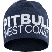 PitBull West Coast zimní čepice TNT tmavě modrý melír 55ccfe1c33