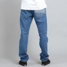 Mass DNM Base Cut Straight Fit Jeans blue