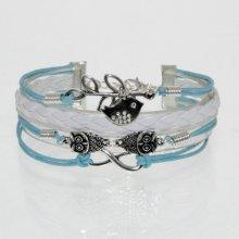 HGM náramek modro-bílý 186555130