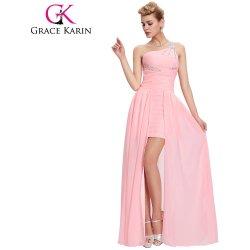 Grace Karin půvabné společenské šaty růžové CL3828 Růžová ... e359d820bc