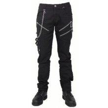 Gotické kalhoty pánské dlouhé Reaper