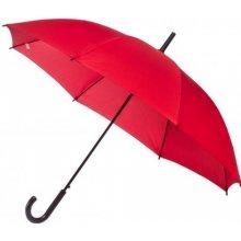 Dámský holový deštník York červený