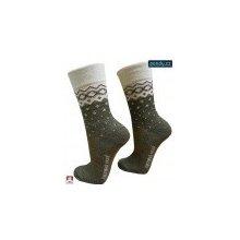 8e6e4886a3c Pondy dámské luxusní MERINO vlněné ponožky