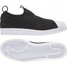 Adidas Originals Superstar Slip On W Černá   Bílá 78c36fabc7