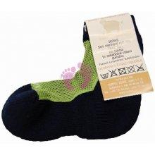 75d2a646bbe Surtex Dětské 80% merino ponožky zelené 20-21