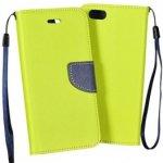 Pouzdro Tel1 Fancy Diary Samsung Galaxy Xcover 4 G390 Limetka