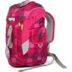 Ergobag batoh Mini Károvaný purpurový