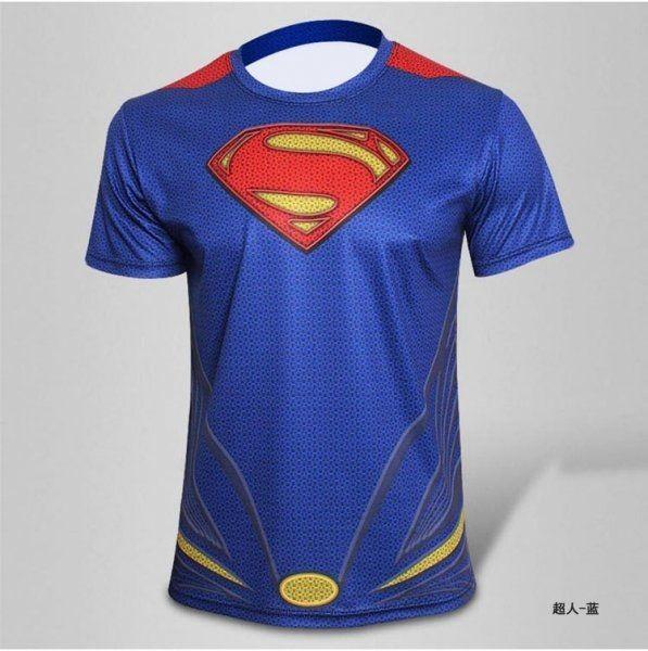 Sportovní tričko Superman od 253 Kč - Heureka.cz 1bf1800eac