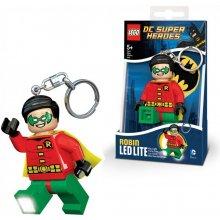 Přívěsek na klíče LEGO DC Super Heroes Robin svítící figurka 4895028510060