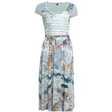 178ab964c08d Smash dámské krátké šaty se vzorem Compta modrá