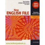 New English File Elementary Student´s Book s anglicko-českým slovníčkem - Clive Oxenden, Christina Latham-Koenig, Paul Seligson