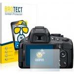 Ochranná fólie BROTECT na Nikon D5100, Matná, 2ks