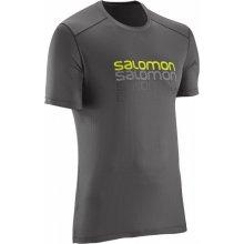 Salomon Cosmic logo SS M galet grey