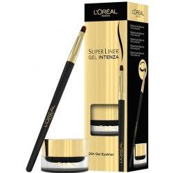 Oko Loréal Super Liner 24h Gel Eyeliner gelové oční linky 01 Pure Black 2,8 g