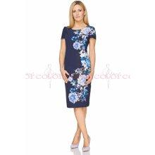 0bc10ea3dd41 Color collection dámské letní pouzdrové šaty modrá