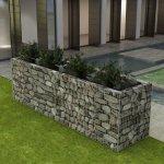 zahradaXL Ocelový gabionový truhlík 360x90x100 cm