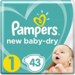 Pampers New Baby Newborn 2-5 kg 43 ks