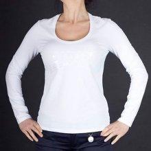 1 343 Kč Ermio.cz . Armani Jeans Značkové dámské tričko s dlouhým rukávem 8df820db1a