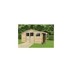 zahradní domek LANITPLAST TOMAS 464 x 301 cm