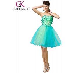 Grace Karin společenské šaty krátké CL007579 zelená alternativy ... f78e83e92a