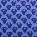 Bavlna modrá s duchy