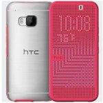 Pouzdro HTC HC M232 Dot View růžové ONE M9 99H20115-00