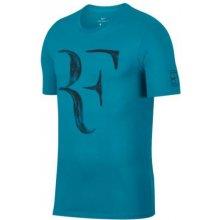 Nike Dětské tričkoCourt Dry RF modré AO2958-430 0d612eded6