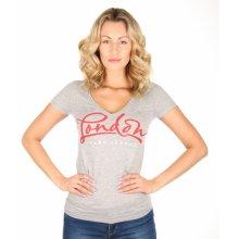aecd9da6260 Pepe Jeans dámské šedé tričko Olivia